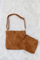 Evie 2in1 Eyelet Scallop Bag - Camel