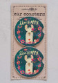 Car Coaster Set - Llive Happy Llama