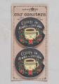 Car Coaster Set - Good Coffee