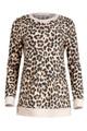 Ezra Leopard Print Sweatshirt
