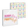 Derby Party Beverage Napkin