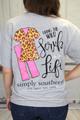 Simply Southern SS Tee - Scrub