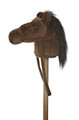 Giddy Up Stick Pony - Dark Brown