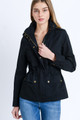 Camryn Utility Anorak Jacket - Black