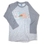 Kentucky Applique Home Raglan - Grey