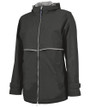 Charles River Rain Jacket - Black