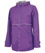 Charles River Rain Jacket - Violet