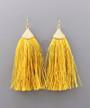 Fringe Tassel Earrings - Marigold