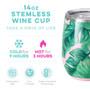 Swig 14oz Stemless Wine Cup - Palm Springs