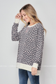 Alanna Leopard Print Hi-Low Top