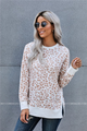 Lana Leopard Print Long Sleeve Top