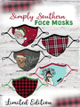 Simply Southern Holiday Face Mask