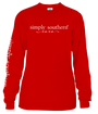 Simply Southern Long Sleeve Tee - Love XOXO