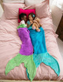 Mermaid Blankie Tail - Purple