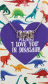 Silver Rhinestone Love Necklace - Youth