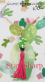 Cactus with Tassel Necklace - Youth