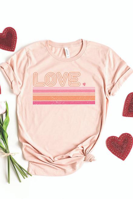 Love Rainbow Stripe