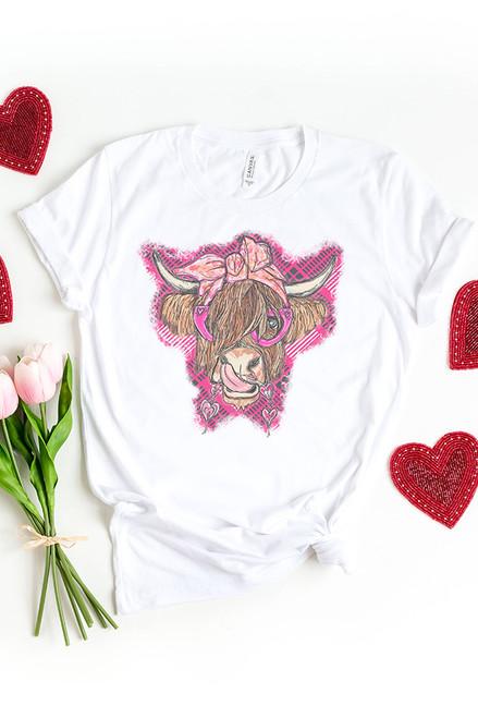 Valentine Highland Cow
