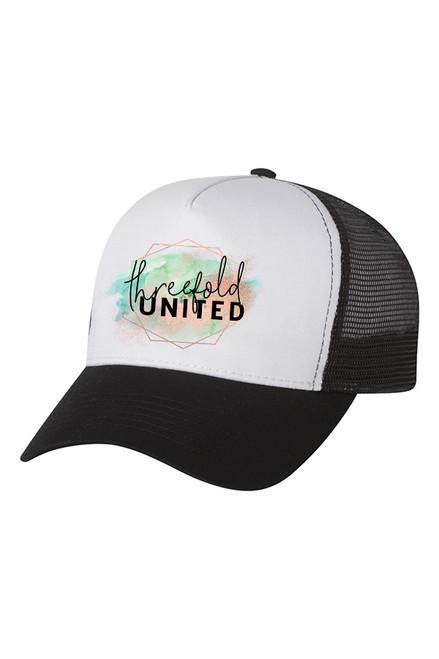 Threefold United Trucker Hat
