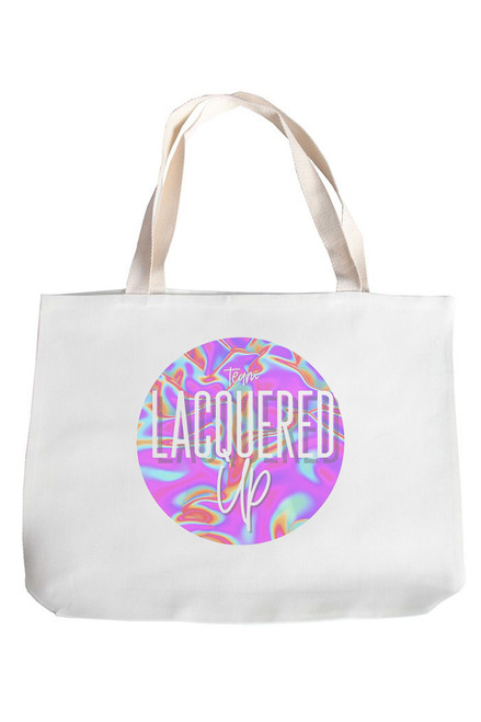 Lacquered Up Tote Bag
