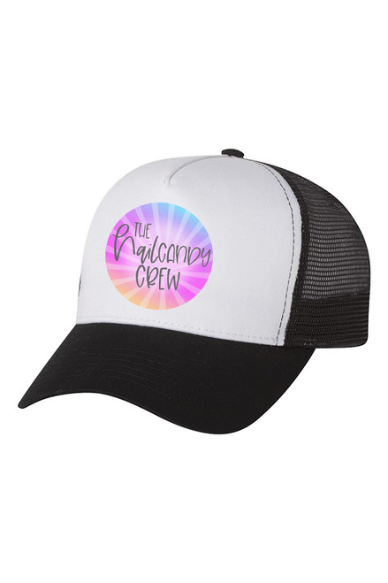 Nail Candy Crew Trucker Hat