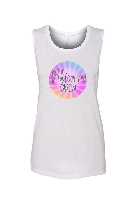 Nail Candy Crew  Muscle Tank