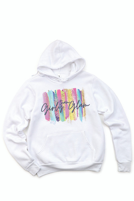 Team Girly Glam Hooded Sweatshirt