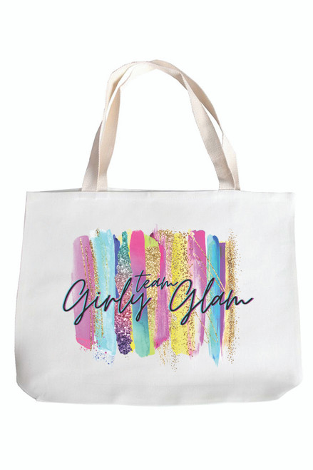 Team Girly Glam Tote Bag