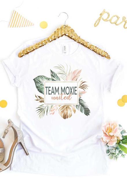 Team Moxie White Tee