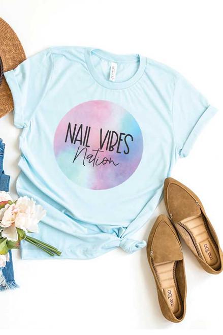 Nail Vibe Nation Tee