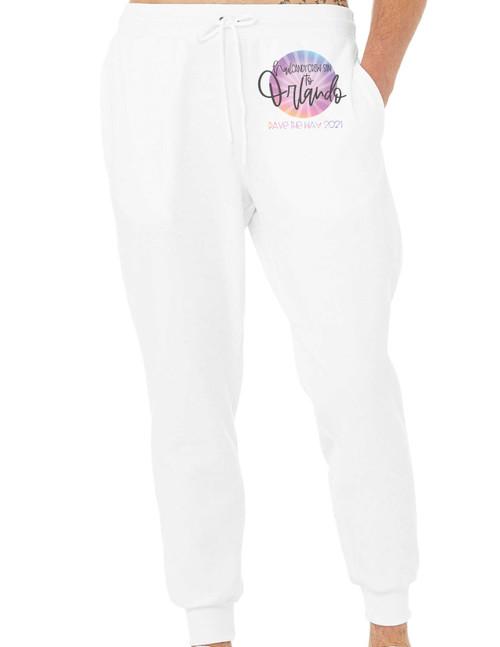 Nail Candy Crew Orlando '21 White Sweatpant