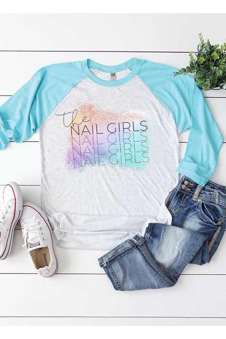The Nail Girls Baseball Tee