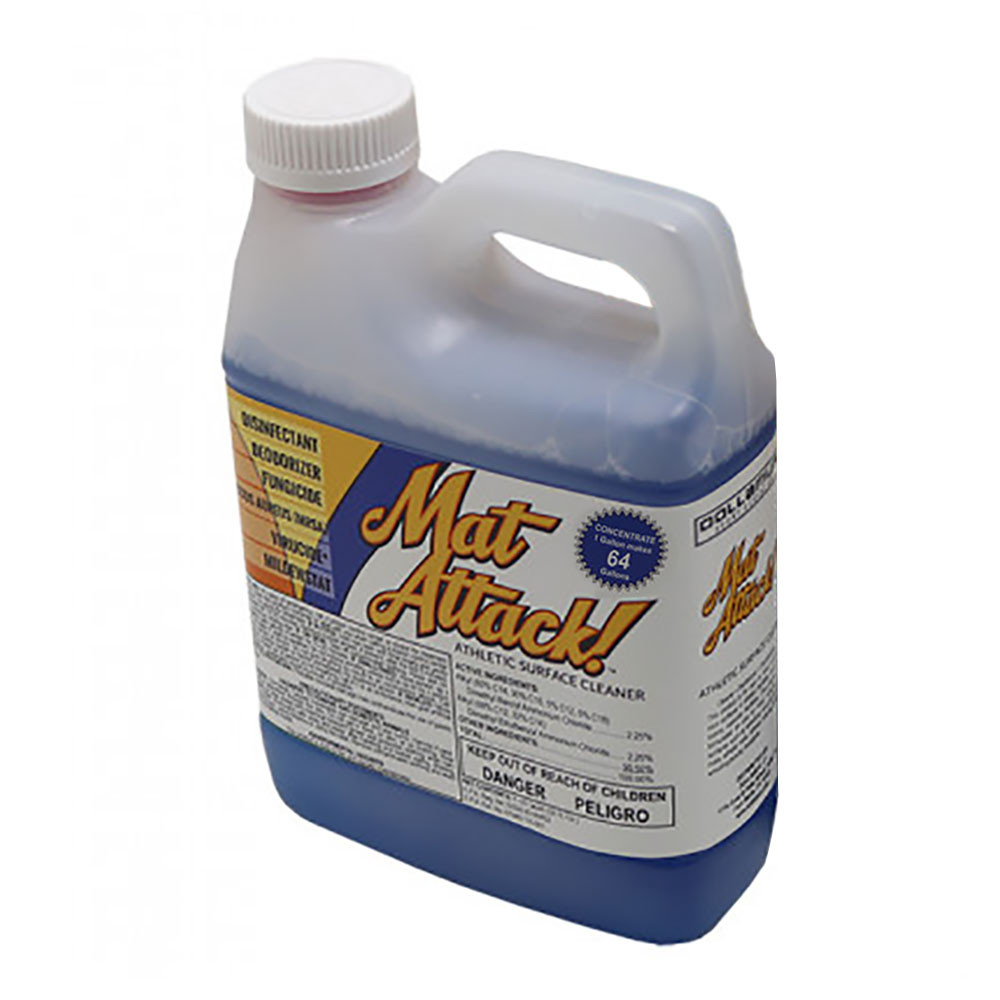 Dollamur Mat Attack! - Athletic Surface & Mat Cleaner - Makes 64 gallons