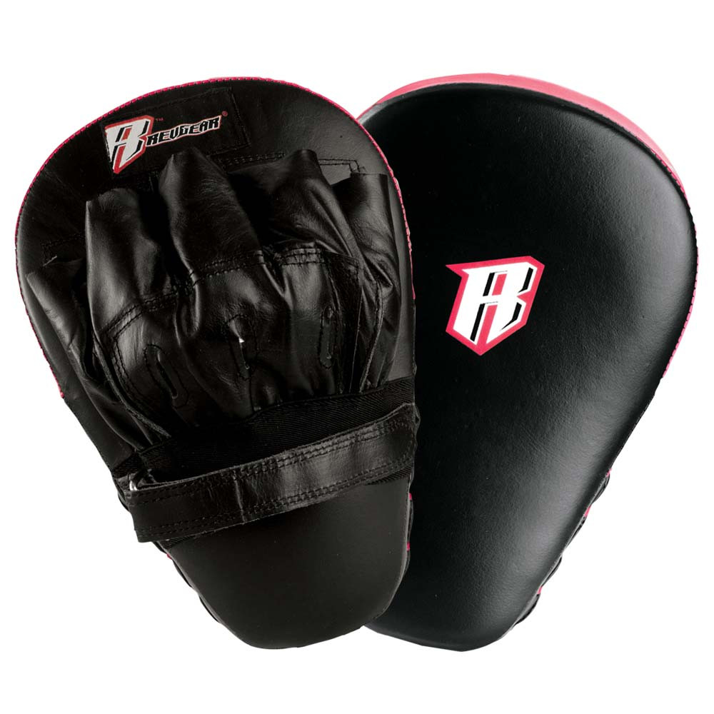 Leather Curved Focus Mitts