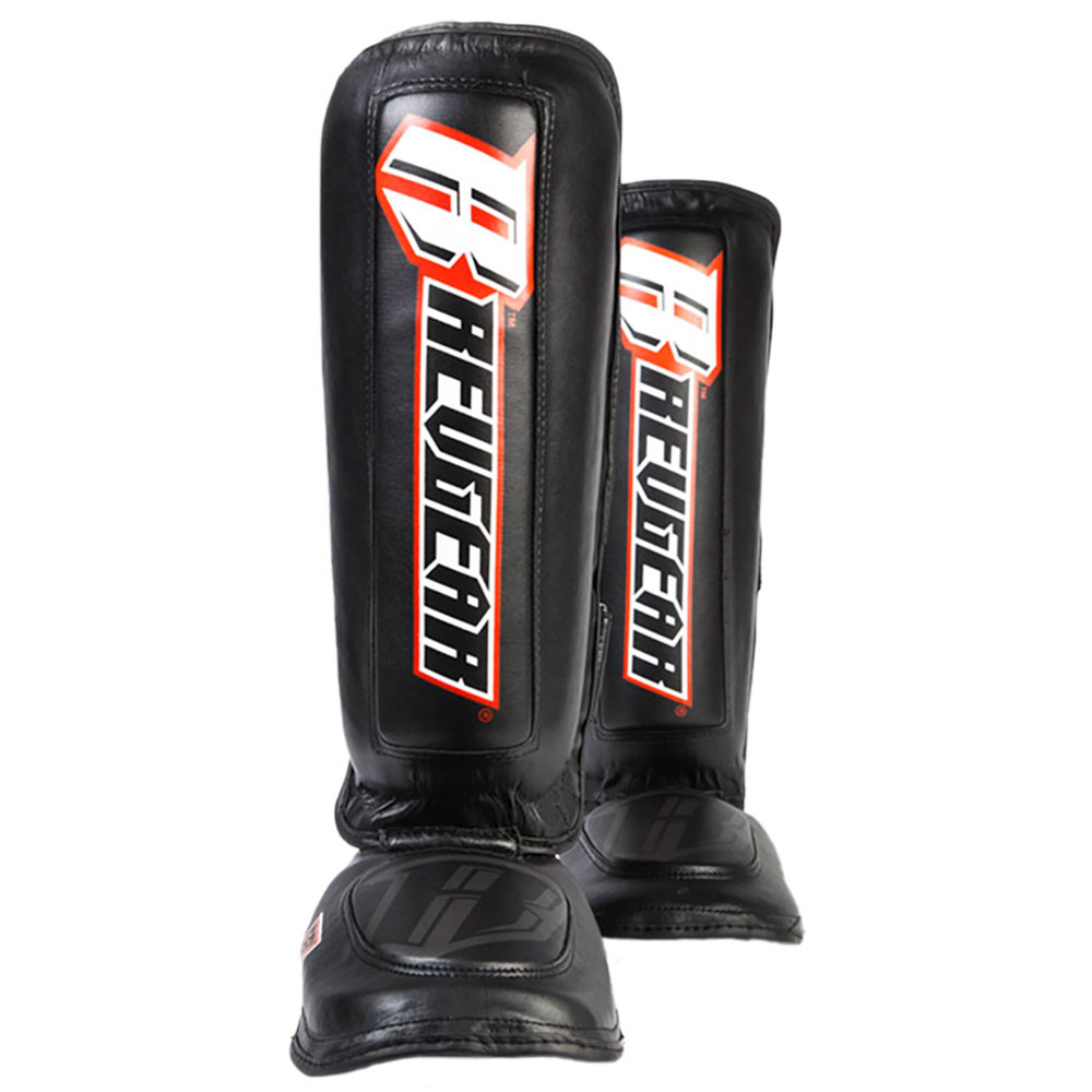 "Defender Gel ""Heavy Hitter"" Pre Curved Shin Guards"