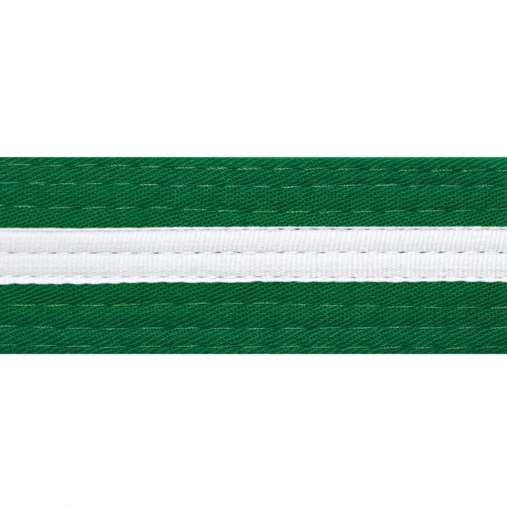 White Striped Colored Belt
