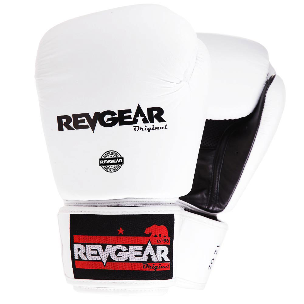 Original Thai Boxing Glove - White