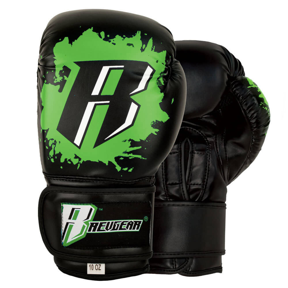 Youth Deluxe Boxing Gloves - Green