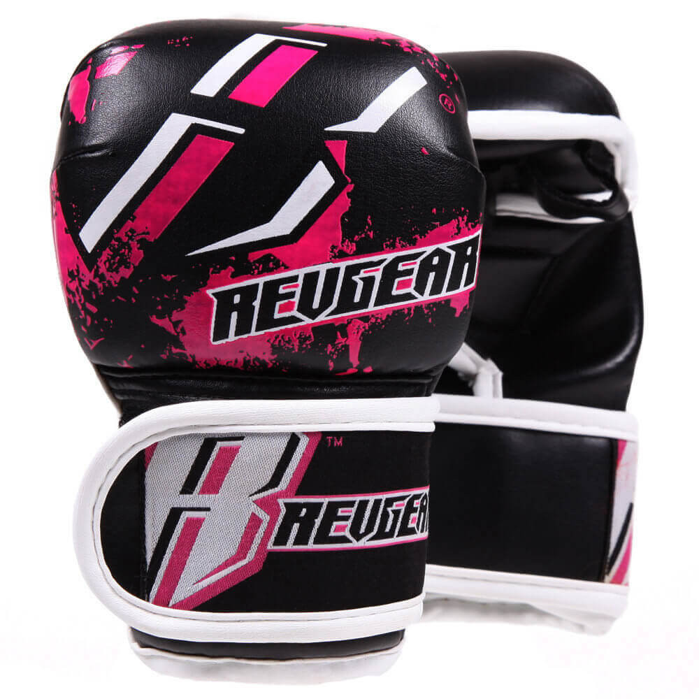 Youth Deluxe MMA Gloves - Pink