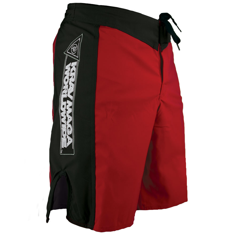 KMW Fight Shorts - Red/Black