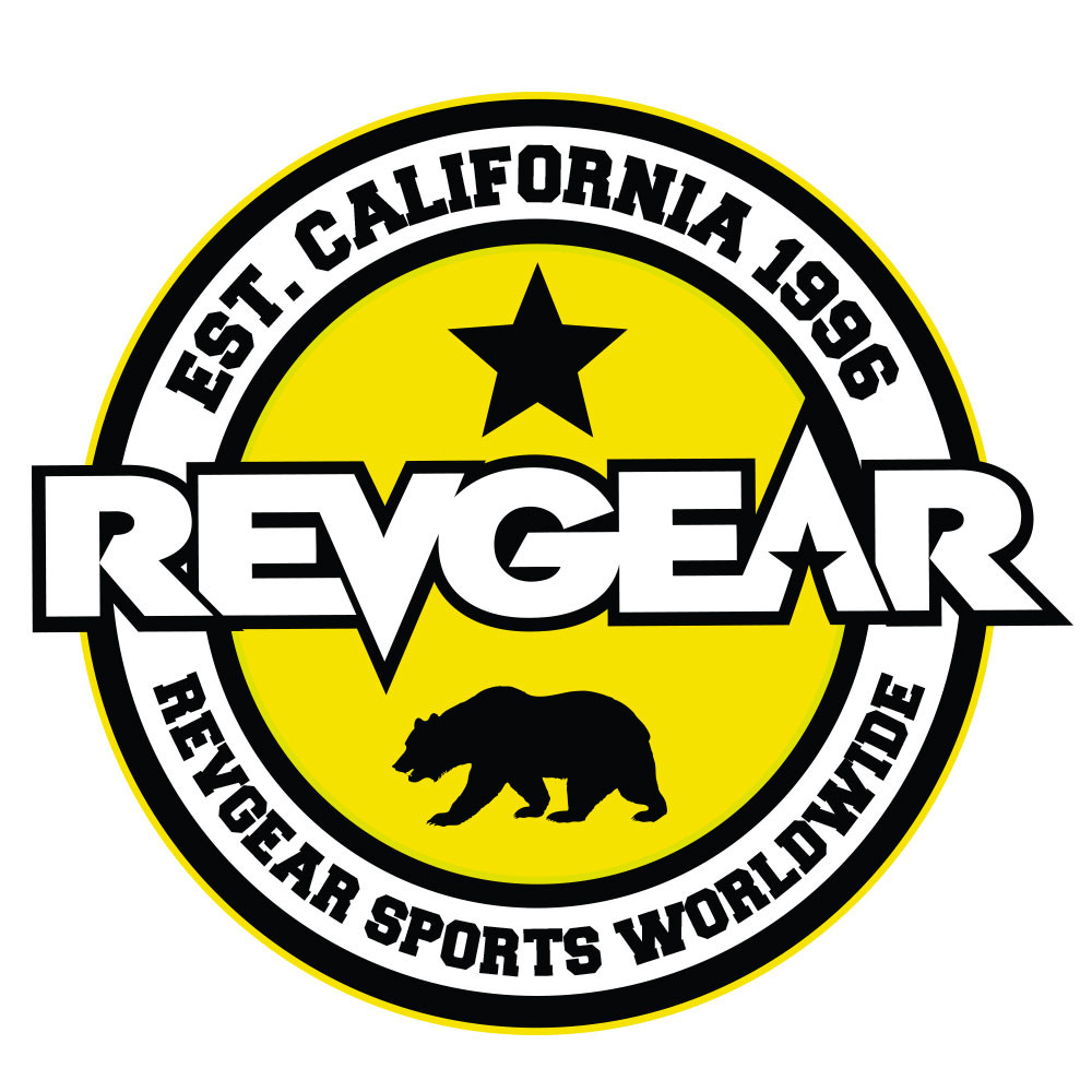 Revgear Sports Worldwide Sticker - Yellow