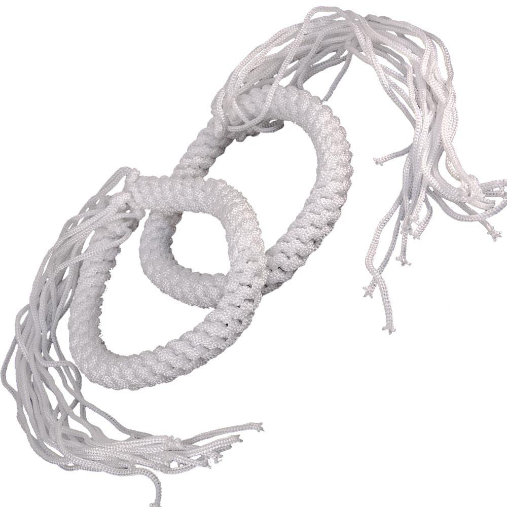 Prajead Traditional Style Elastic Muay Thai Armband - White