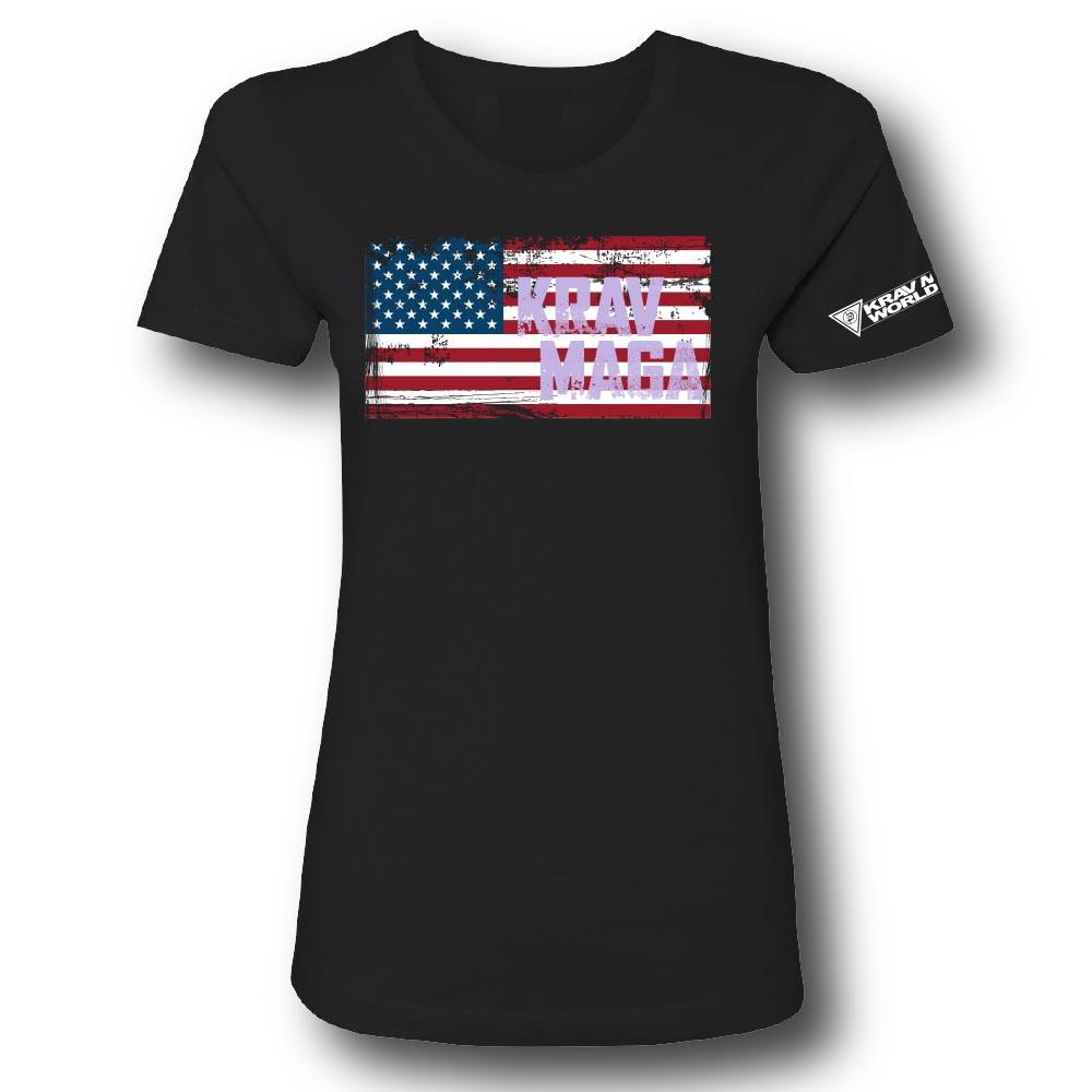 Ladies USA Flag