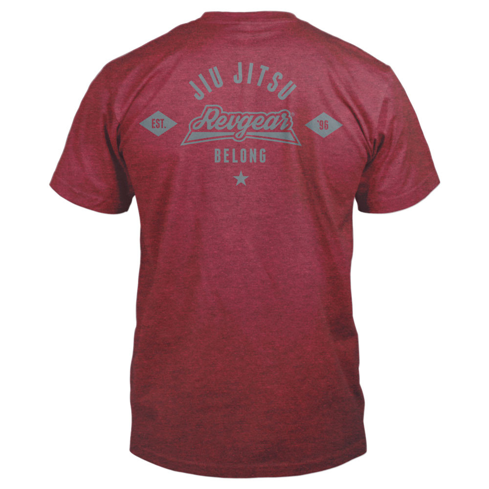 Revgear Belong BJJ Shirt - Cardinal