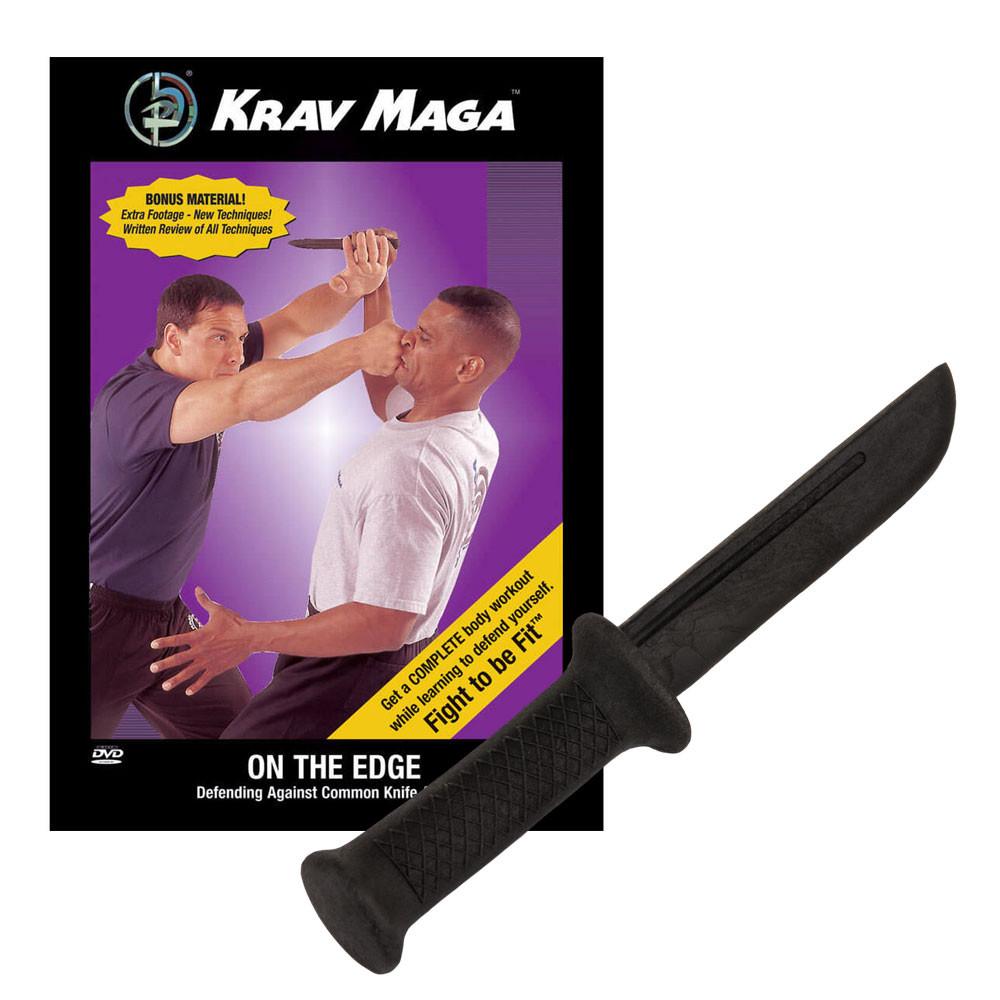 Krav Maga On the Edge DVD and Training Knife Kit