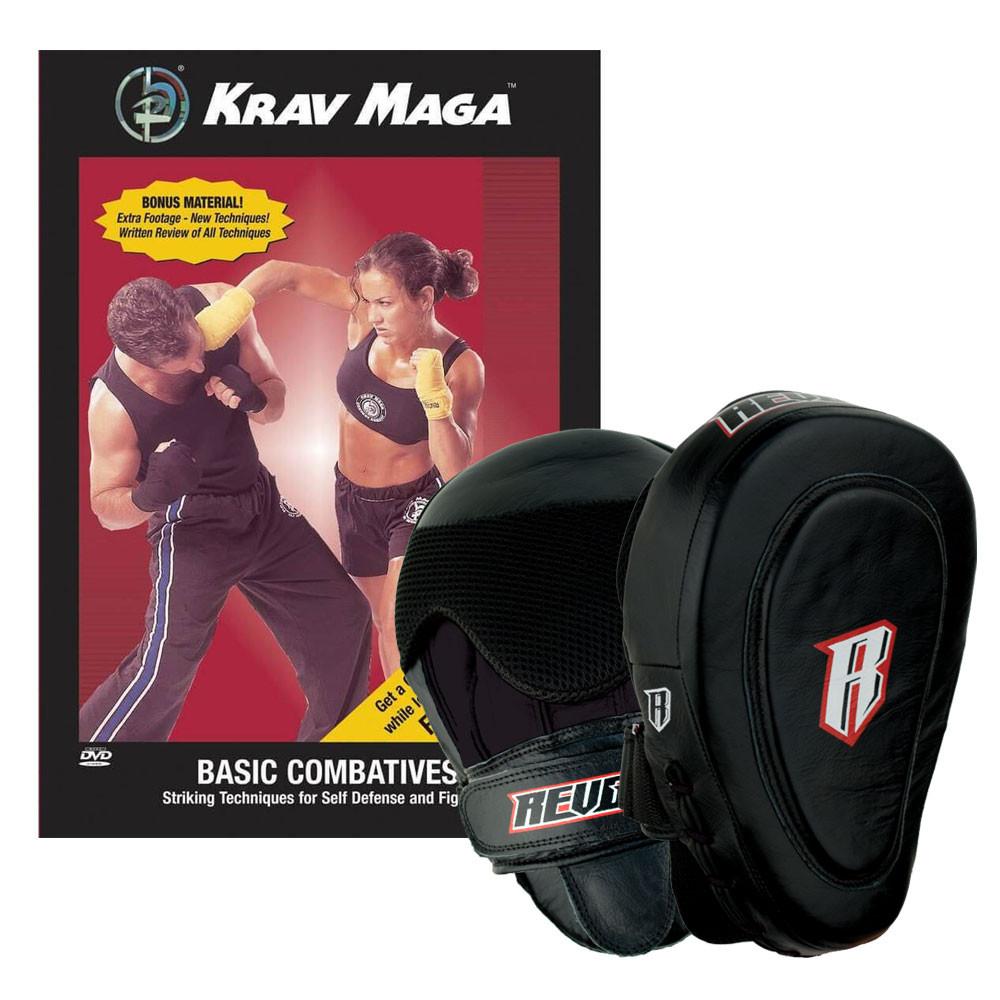 Krav Maga Combatives DVD and Mitts Kit