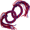 Prajead Traditional Style Elastic Muay Thai Armband - Purple/Red