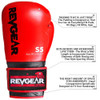 S5 All Rounder Boxing Glove - Red/Black