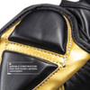Pinnacle P4 MMA Training and Sparring Glove - Black/Gold