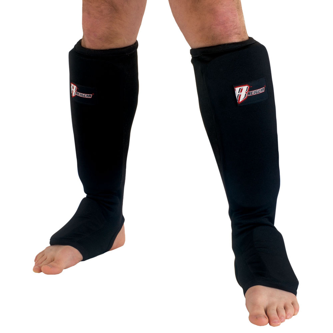 Cloth Shin and Instep Pad - Black